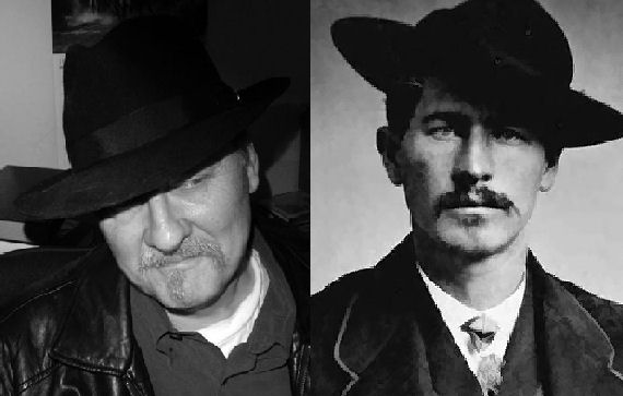 Figure 5 - John Shirley and Wyatt Earp
