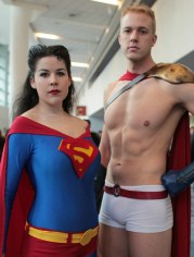 Superman and Power GIrl (or is that Superwoman and Power Boy?)