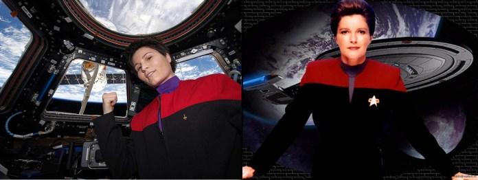Cristoforetti and Janeway