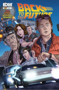Back to the Future Issue 1 cover - October