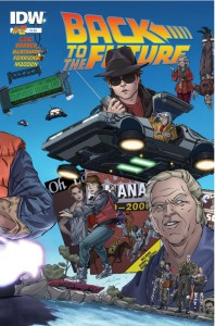 Back to the Future Issue 2 cover - November