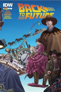 Back to the Future Issue 3 cover - December