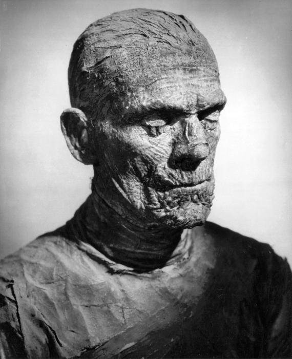 Figure 4 - Karloff as Imhotep Mummy