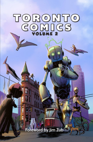 Figure 2 – Toronto Comics (cover)