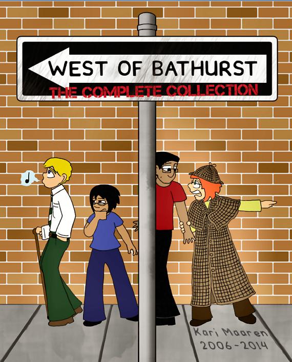 igure 8 - West of Bathurst (cover) by Kari Maaren