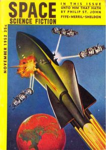 Space Science Fiction Nov 1952 cover