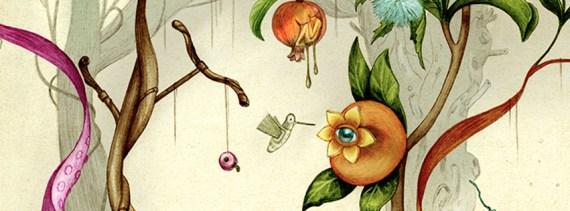 Improbable Botany cover art by Jonathan Burton