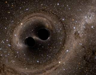 Pairs of Supermassive Black Holes Spotted in Colliding Galaxies