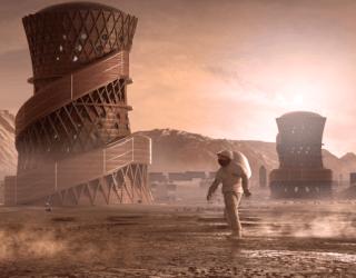 These 3D-Printed Mars Habitats Just Won a NASA Award
