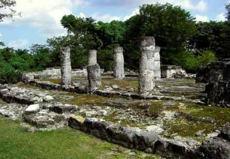 Structure - Cozumel - San Gervasio