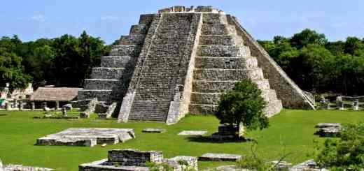 Mayapan-19 - Pyramid of Kulkulkan