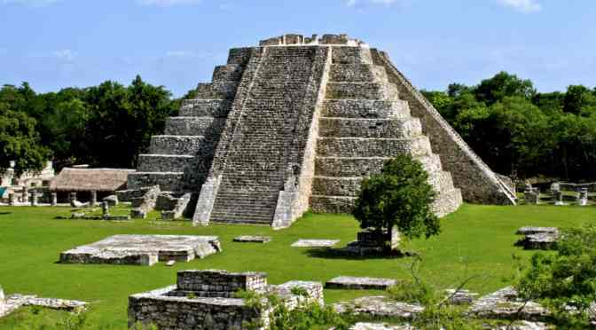 Mayapan – last big town of the ancient Maya in Yucatan