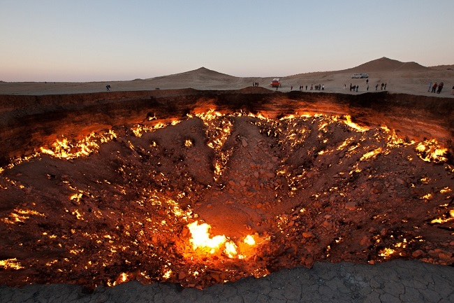10 Famous Gateways to Hell Well Worth a Visit