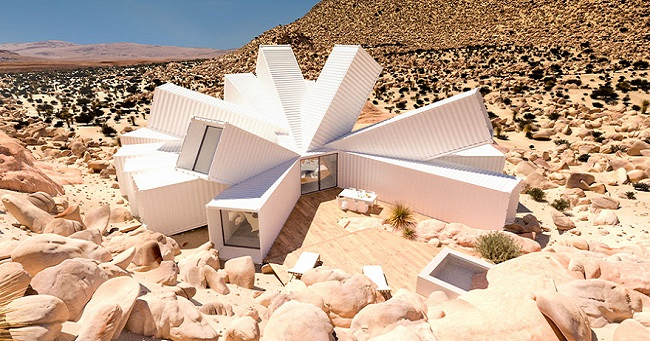 Architect Creates House from Shipping Containers and the Result is Spectacular