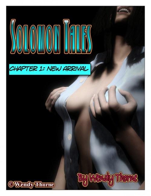 Solomon Tales cover- a Sexy TG transformation comic