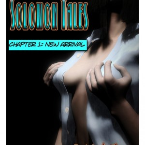 Solomon Tales cover- a Sexy TG transformation comic