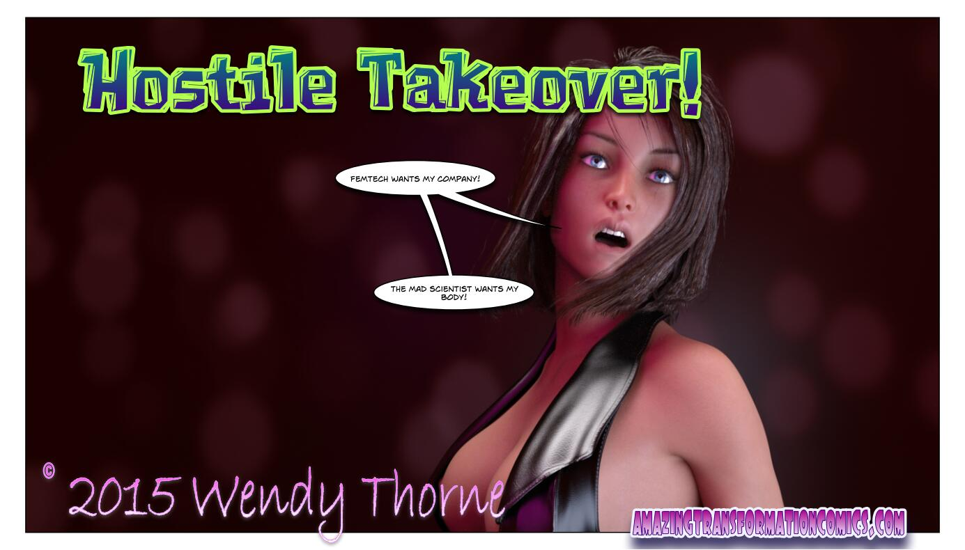 Hostile Takeover cover