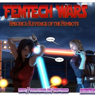 Femtech 3 Revenge of the Fembots Cover