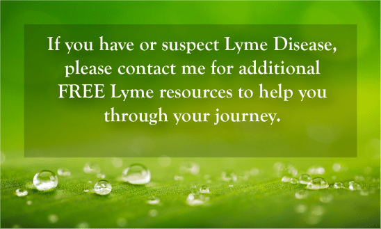 PAGE ARTICLES - Lyme FREE offer