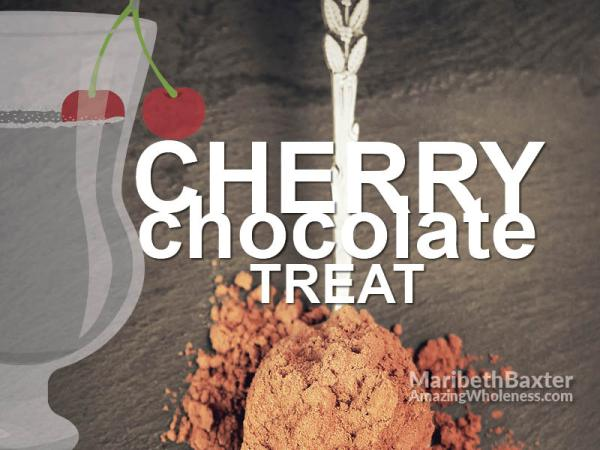 cherry chocolate treat