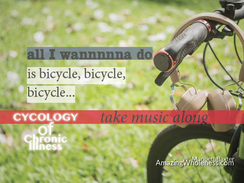All I Wanna Do Is Bicycle Bicycle Bicycle