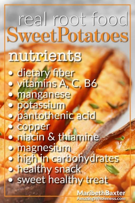sweet potato nutrients