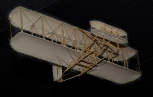 Model of Wright Brothers Plane