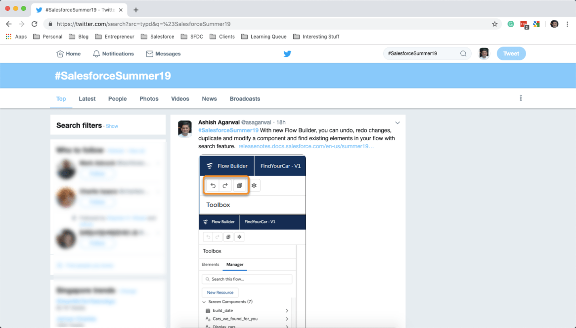 Salesforce Summer 19 on Twitter