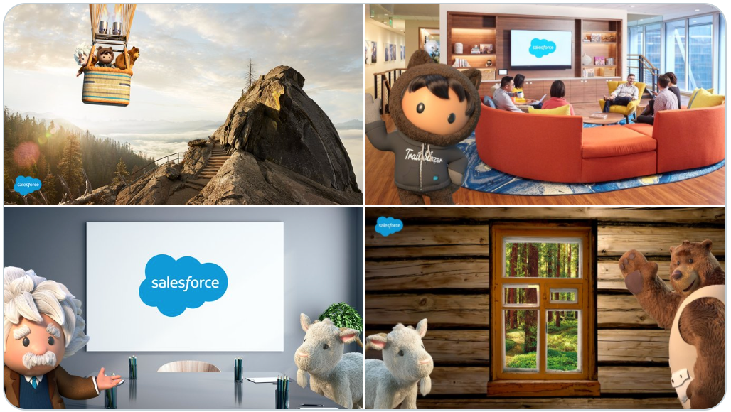 Salesforce Background Images for Your Live Meetings