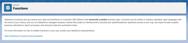 """, Étendre Salesforce avec des fonctions (bêta)<span class=""""wtr-time-wrap after-title""""><span class=""""wtr-time-number"""">1</span> minutes de lecture</span>"""