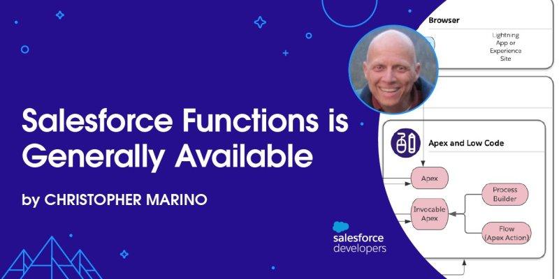 """, Salesforce Functions est désormais disponible en GA<span class=""""wtr-time-wrap after-title""""><span class=""""wtr-time-number"""">1</span> minutes de lecture</span>"""