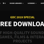 【無料 25GB分 効果音集】SONNISS社 「GDC 2019 Game Audio Bundle」