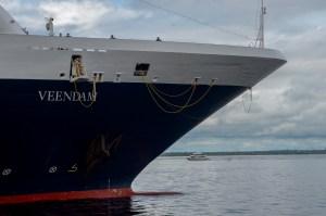 Temporada de Cruzeiros 2019 inicia com chegada do navio Aurora