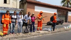 Com música e brincadeiras, Garis da Alegria levam conscientização ambiental