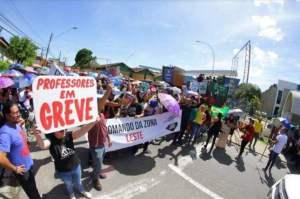 Asprom decreta fim da greve dos professores no Amazonas