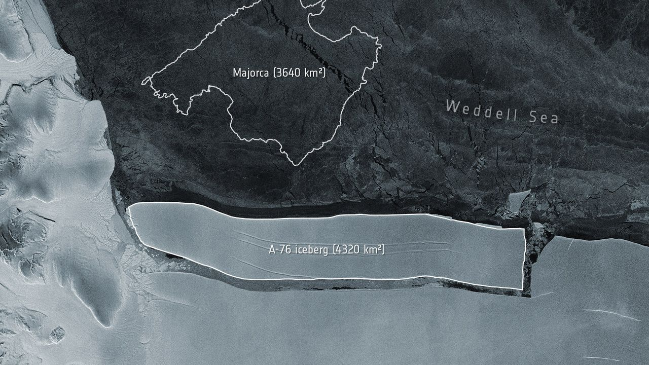 Maior iceberg do mundo se desprende de geleira na Antártica