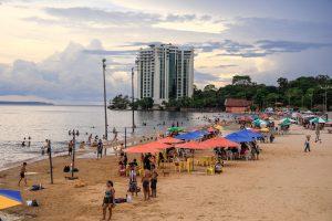 Praia da Ponta Negra fica interditada de quinta até domingo, atendendo a decreto do prefeito David Almeida
