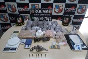 Polícia desmantela laboratório de drogas e prende jovem em Manaus