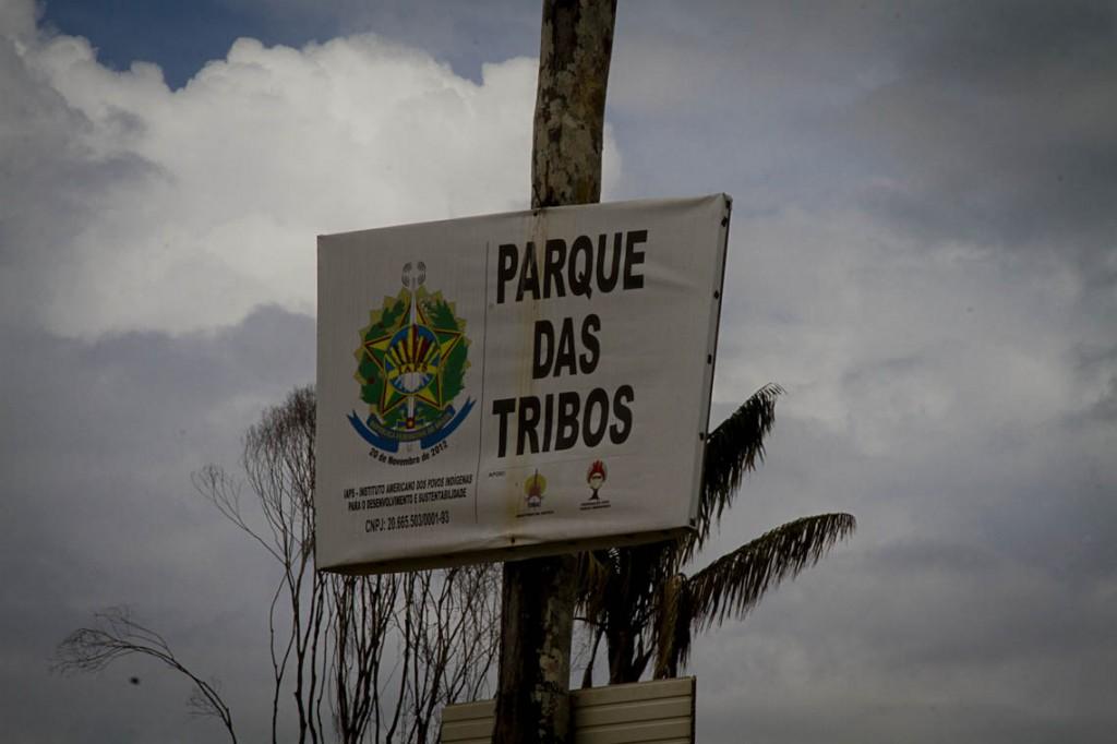 The indigenous community is in Tarumã, Manaus (Photo: Alberto Cesar Araujo / AmReal)