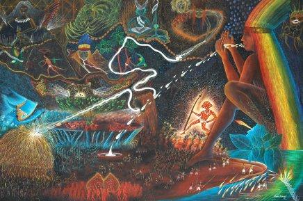 Rember Yahuarcani - La création du Monde, 2007