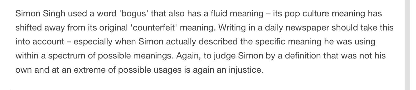 Bogus Definition