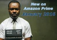new on amazon prime january 2016