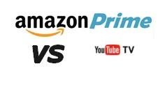 Amazon Prime vs YouTUbe TV