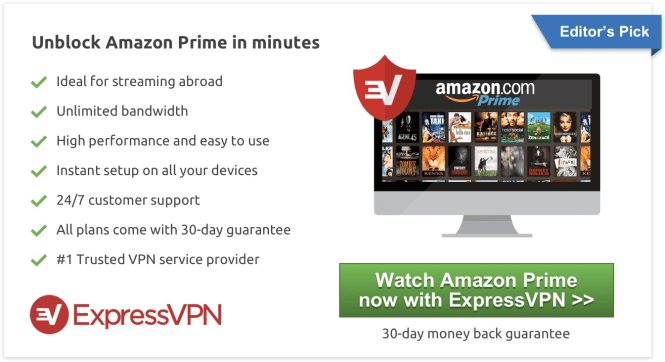 Watch Amazon Instant Videos outside the USA
