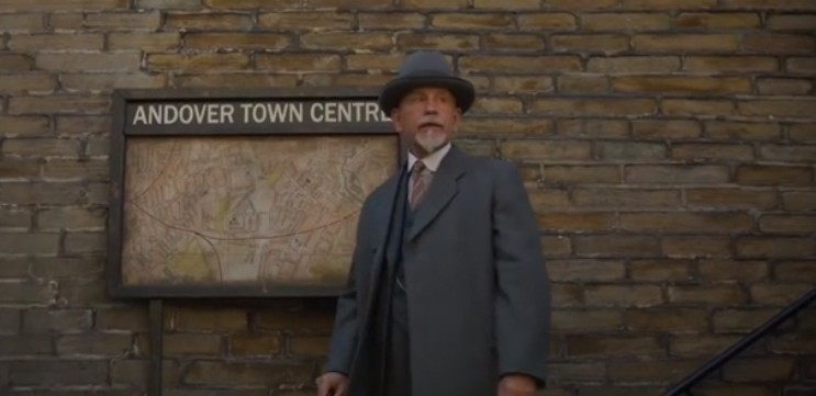 John Malkovich plays the role of Hercule Poirot in The ABC Murders