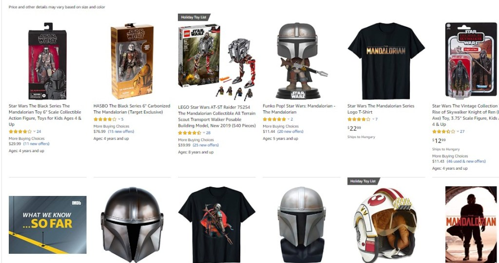 The Mandalorian on Amazon.com
