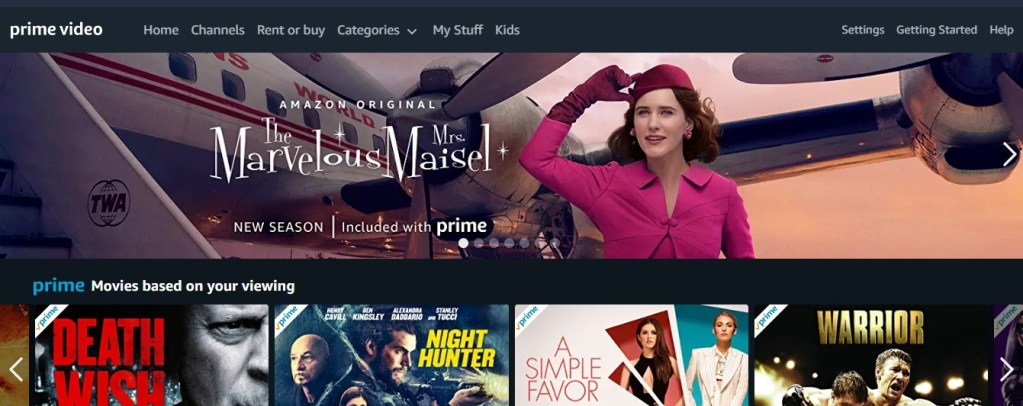 What to watch on Amazon Prime during the coronavirus?