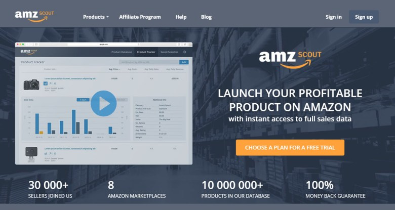 amzscout for amazon sellers