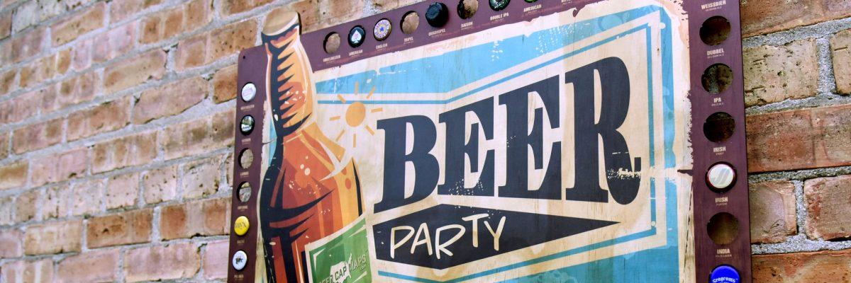Brand Building Idea - Beer Cap Maps - AmazonSEOConsultant.com