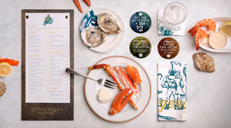 Little Cleo's Seafood Restaurant Branding Ideas - FedEx Branding - Brand Consistency - AmazonSEOConsultant.com
